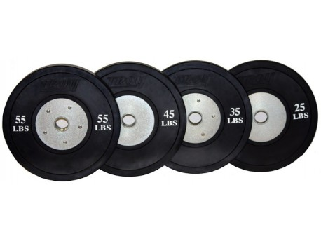 *SCRATCHED* Troy Competition Bumper Plate LB Black
