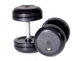 Troy Rubber Pro-Style Dumbbell Set - 5-100 lb