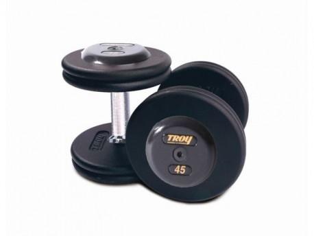 Troy Pro-Style Dumbbell Set - 5-52.5 lb (2.5-lb increments)