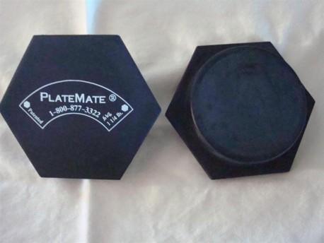 PlateMate Hex Magnet, 1-1/4 lb Pair
