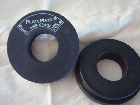 PlateMate Donut Magnet, 1-1/4 lb Pair