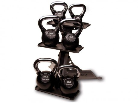 Body Solid 6 Kettlebell Rack