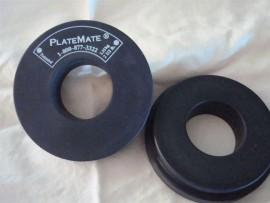 PlateMate Donut Magnet, 2-1/2 lb Pair