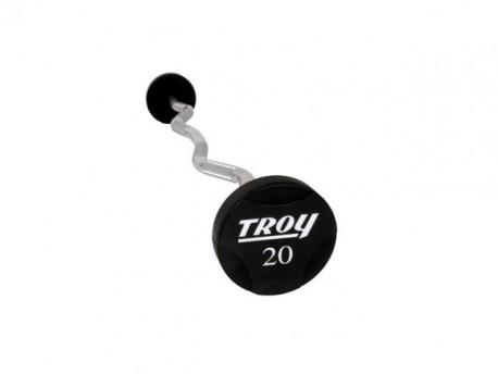 Troy Urethane Encased Curl Barbell Set 20-110lb