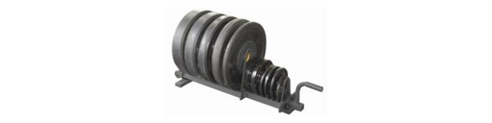 Bumper Plate Storage Racks